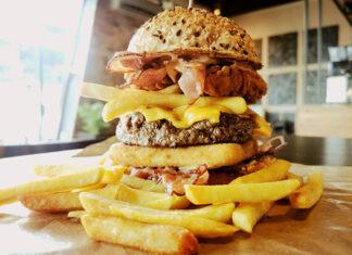 Burger z Grill Way Bar w Wyszkowie